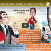 La notificación en el Proceso Monitorio.